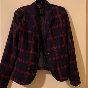 Merona plaid blazer